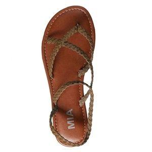 49572cbc105 MIA Shoes - MIA Amore Women s Braid Flat Sandal